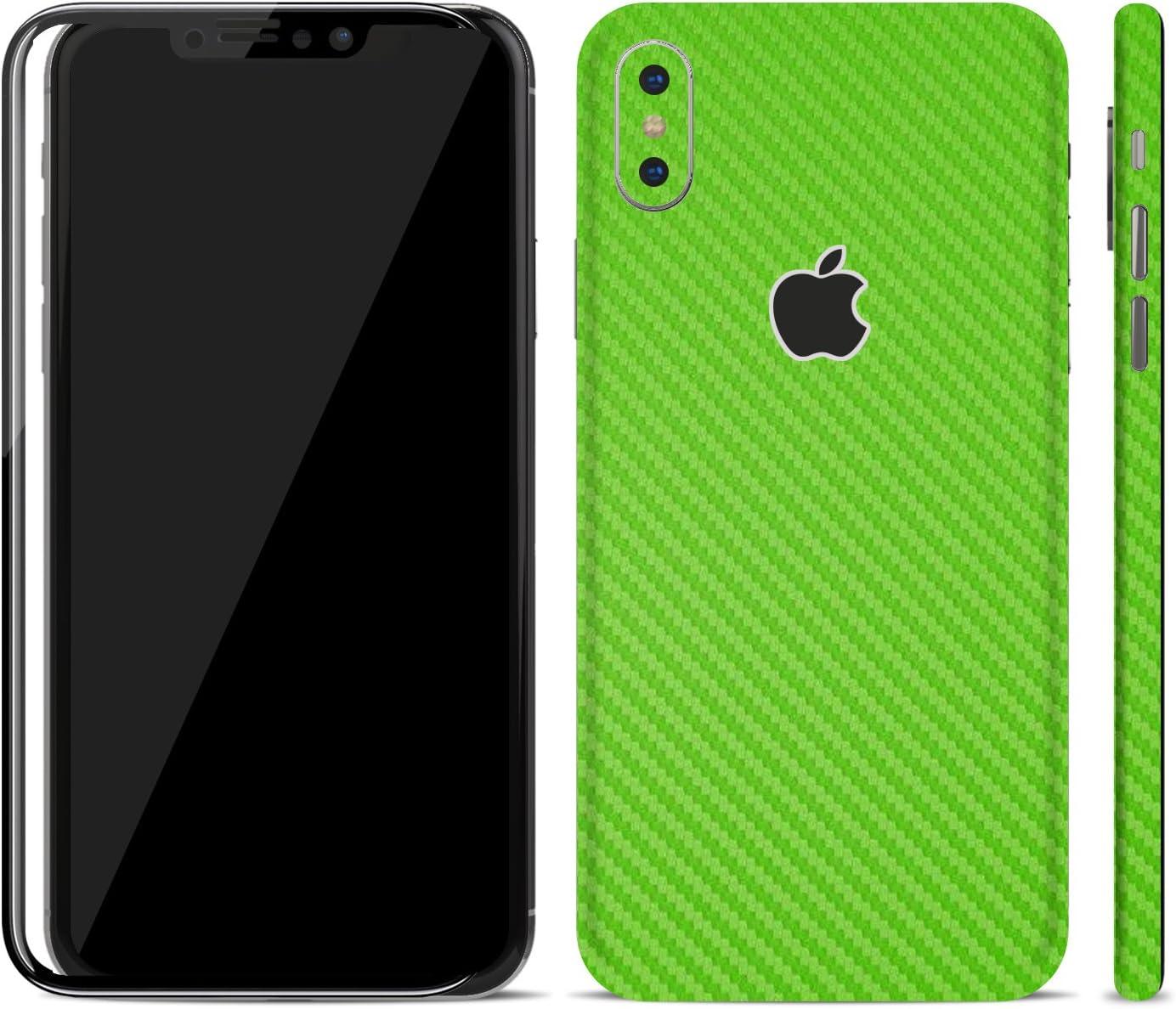 iPhone X Skin, Jungle Green Gloss iPhone X 10 Textured Skin Sticker