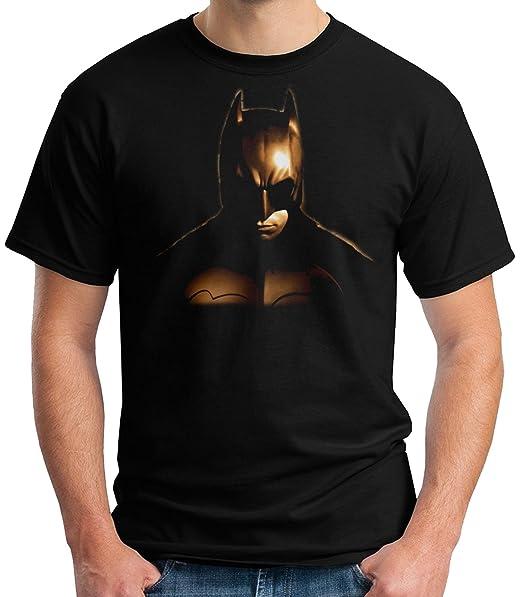 35mm - Camiseta Niño Batman Begins - Superheroes - T-Shirt, NEGRA, 11