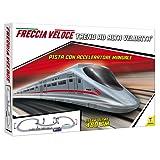Teorema 64651 - Pista Treno con Acceleratore Manuale, Stazione e Galleria, Sviluppo 476 Cm