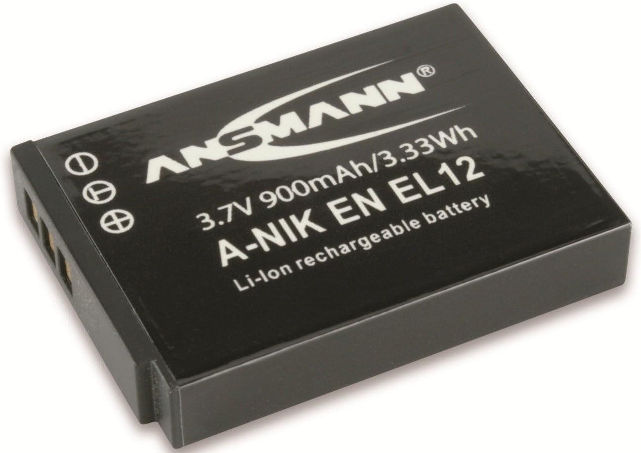 Ansmann 5044483 A Nik Enel 12 Li Ion Digicam Akku 3 7v Elektronik