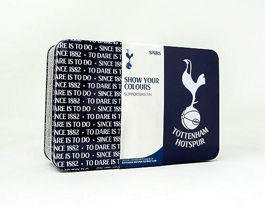 Amazon Com Tottenham Hotspur F C Football Team Storage Tins 2019 2020 Boys Girls Xmas Birthday Gift Selection Home Kitchen