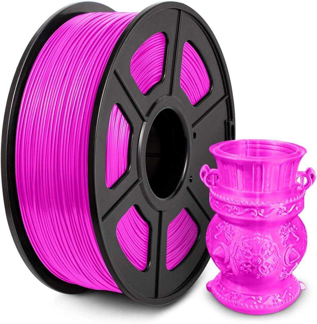 PLA Filament 1.75mm, PLA imprimante 3D Filament, PLA Filament 1KG (2.2 lb) PLA Fuchsia