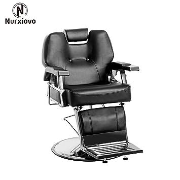 Fabulous Nurxiovo Barber Chair All Purpose Hydraulic Recline Salon Chair Spa Beauty Shampoo Hair Styling Theyellowbook Wood Chair Design Ideas Theyellowbookinfo
