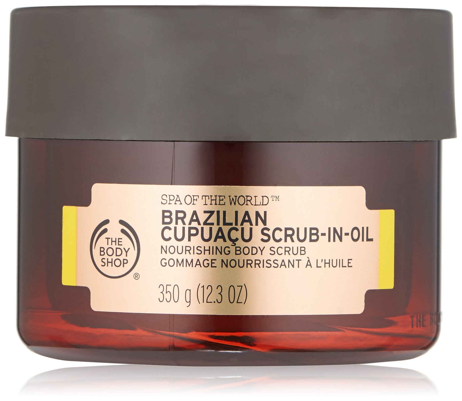 The Body Shop Spa of the World Brazilian Cupuacu Scrub-In-Oil, 12.3 Ounce