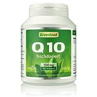 Coenzym Q10, 100 mg reines Q10, hochdosiert, 180 Vegi-Kapseln – hergestellt durch natürliche Fermentation. Neue Energie für Herz, Zellen und Muskeln. OHNE künstliche Zusätze, ohne Gentechnik. Vegan.