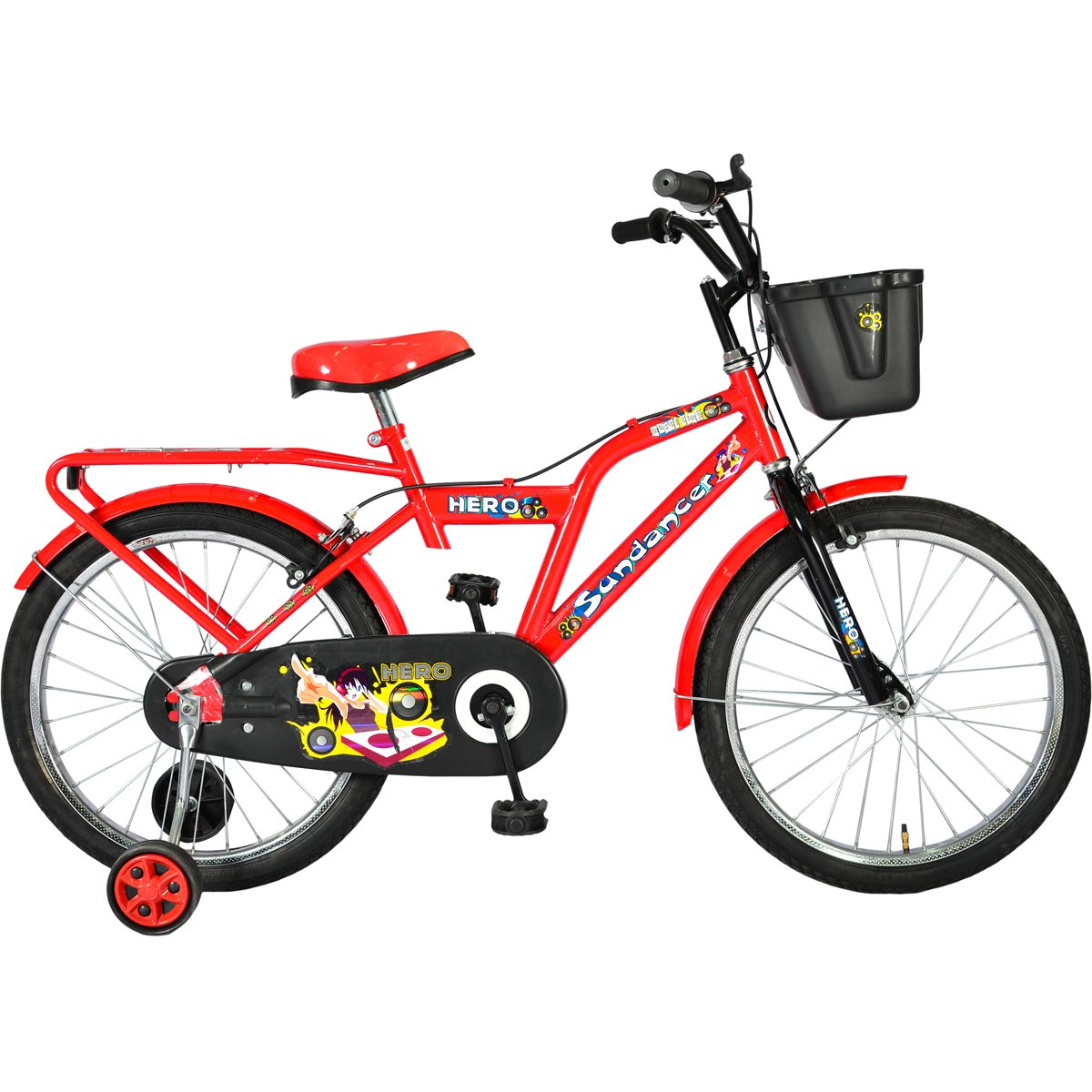 eef023490c2 Buy Hero Sundancer 20T Hi Riser Junior Bike 14-inches (Red) Online at Low  Prices in India - Amazon.in