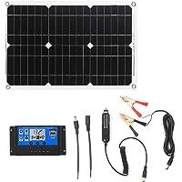 Kecheer Kit de panel solar 18W 12V,Módulo monocristalino fuera de la red Kits de cable de conexión