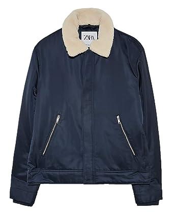 Amazon.com: Zara Bomber 5320/312/401 - Chaqueta con cuello ...
