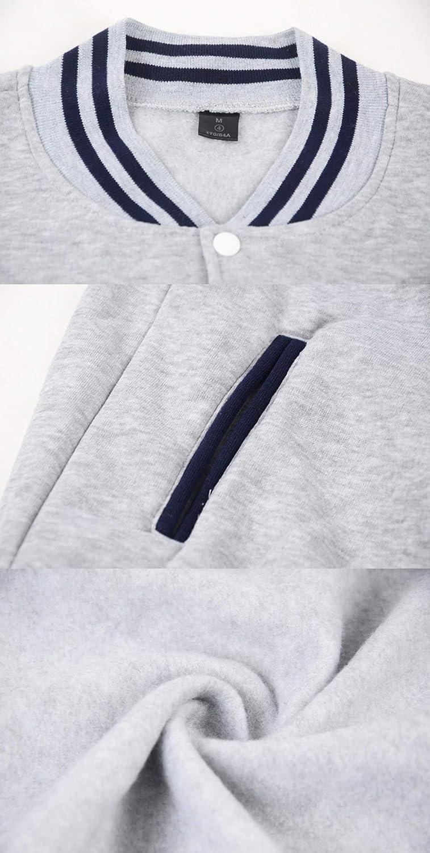 Amazon.com: WEEKEND SHOP Marcus &Martinus Baseball Jacket Hip Hop Clothes Women Men Casual Jacket: Clothing
