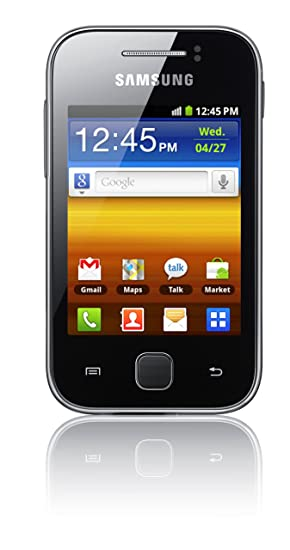 samsung s5360 galaxy y sim free mobile phone metallic amazon co rh amazon co uk Samsung Galaxy Stellar User Manual Samsung Galaxy Stellar User Manual