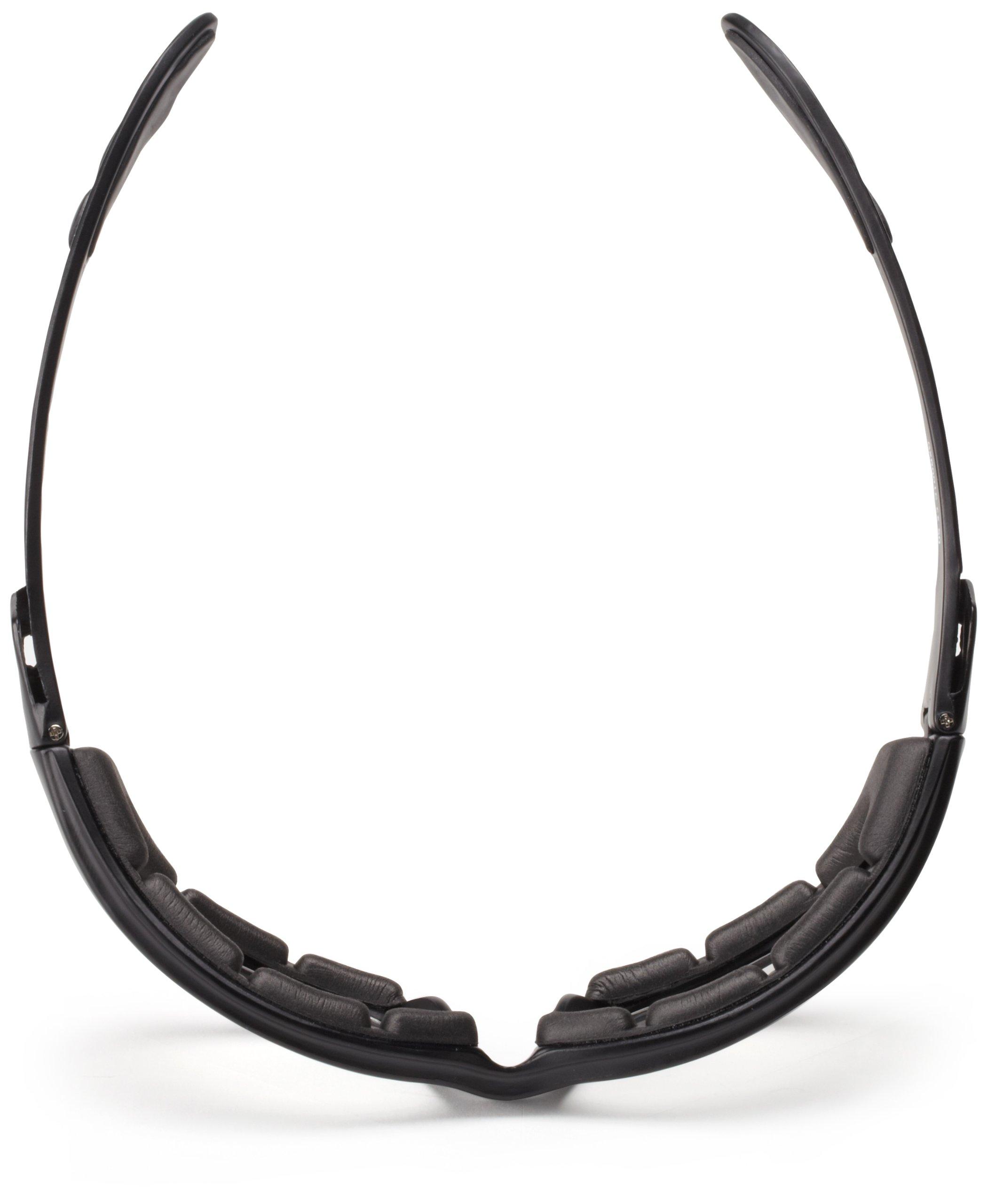 Bobster GXR Sport Sunglasses,Black Frame/Clear Lens,one size by Bobster (Image #5)