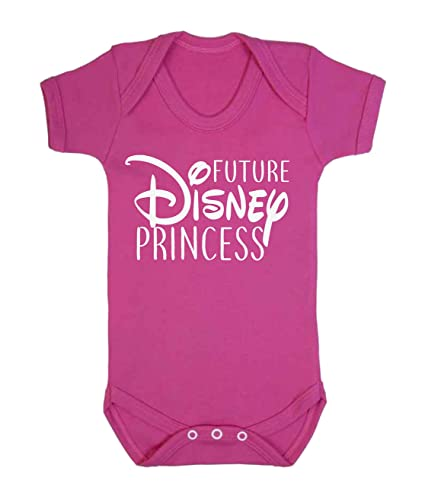 58d4fd57d996 Future Disney Princess Baby Vest Babygrow Bodysuit Baby Shower Gifts Baby  Girl Gifts Dark Pink (0-3 Months): Amazon.co.uk: Baby