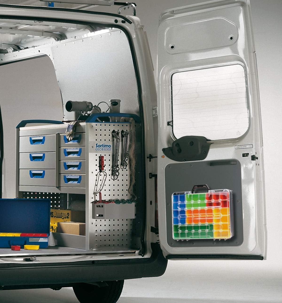 Bosch Sortimo Boxen Set S/éparateurs pour bo/îte T1 pour T-Boxx Id/éal mallette Outils d/ép/ôts vides Syst/ème r/églementaire atelier Outil
