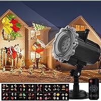 Qomolo Luces Proyector Navidad LED, Lámpara de Proyección