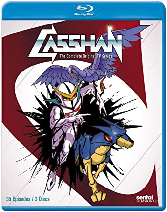 Amazon com: Casshan [Blu-ray]: Ikuo Nishikawa, Takao Koyama: Movies & TV