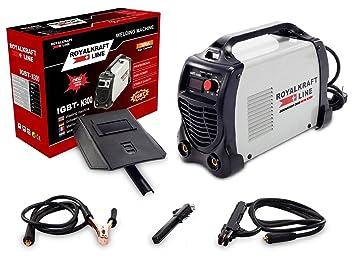 Maquina de soldar IGBT MMA ARC 250 Amperios con Ampermeter Digital LCD: Amazon.es: Bricolaje y herramientas