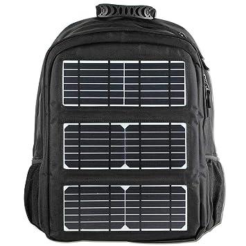 HBAOT Mochila de Senderismo 45l,con Cargador Solar para ...