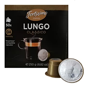 Fortisimo LUNGO Nespresso Compatible Capsule (one pack)