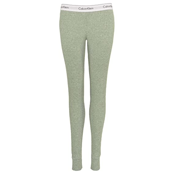 59345956c3a3d Calvin Klein Women Modern Cotton Modal Legging, Graphic Rib/Heather ...