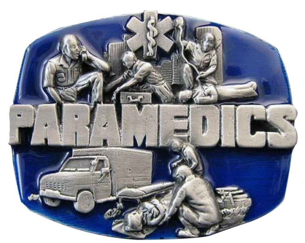 Buckle Paramedics at work, Rettungsdienst, Paramedic, Gürtelschnalle Gürtelschnalle Piratenladen