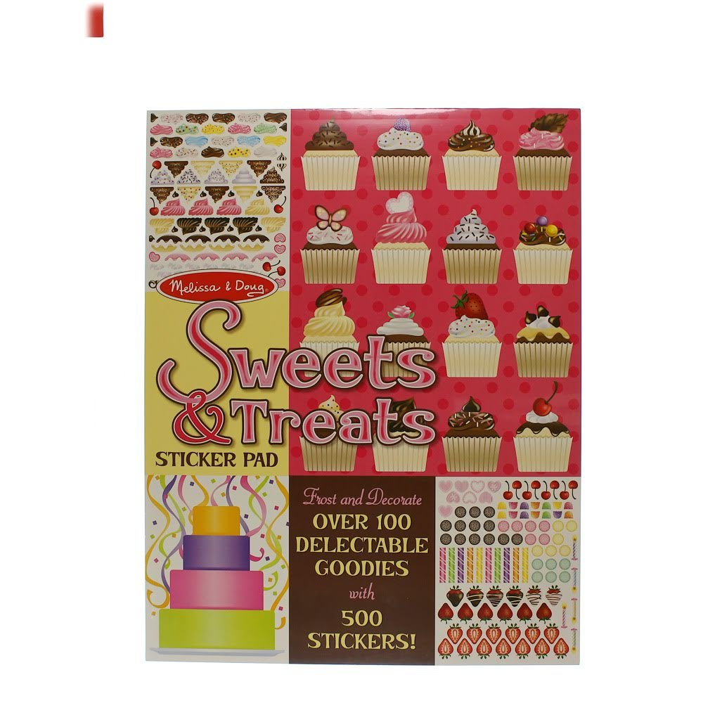 Sweets Treats Sticker Melissa Doug