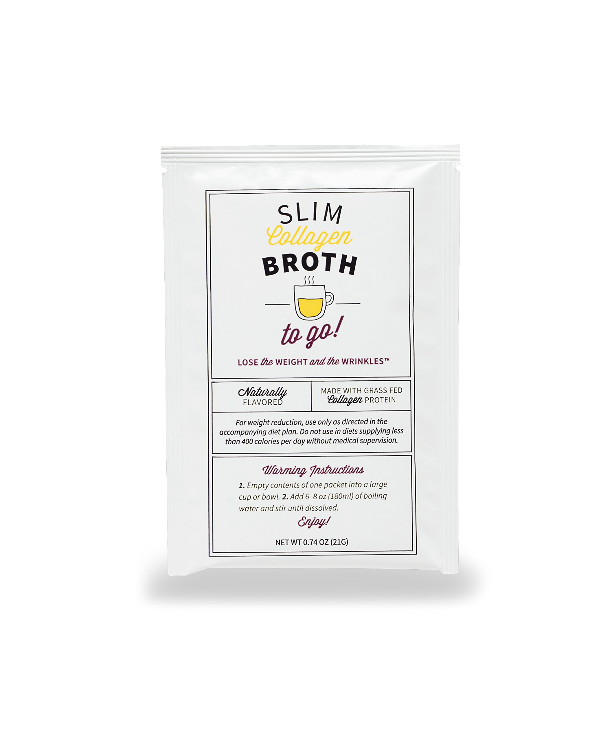 10-Day Belly Slimdown Bone Broth Collagen Pack by Dr. Kellyann - 10 Bone Broth Packets, 5 Keto Chocolate Almond & 5 Keto Vanilla Almond Protein Shakes - Weight loss, Keto, Paleo Diets (20 Servings) by Dr. Kellyann (Image #1)