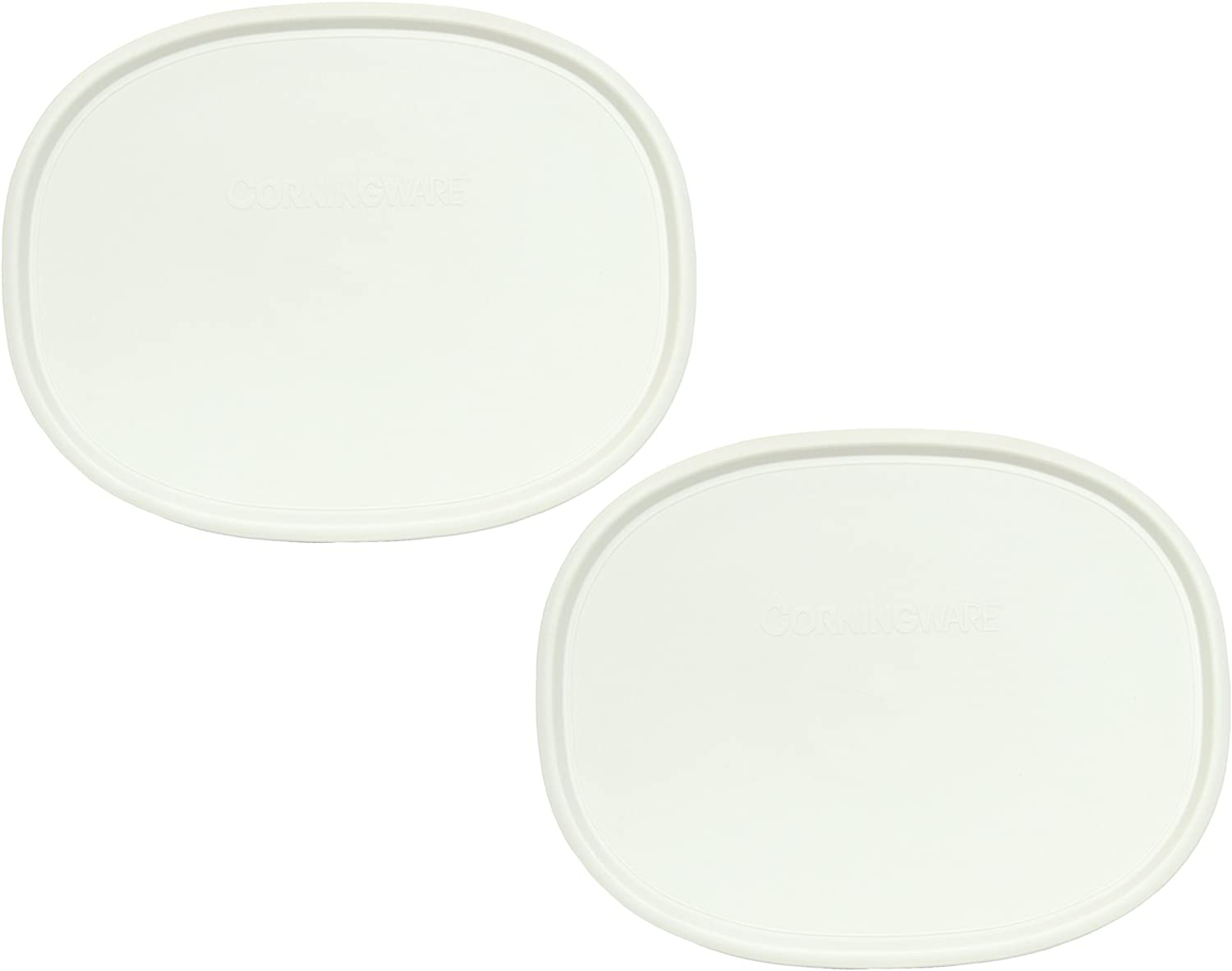 Corningware F-2-PC Oval French White - 2 Pack
