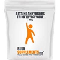 BulkSupplements Betaine Anhydrous Trimethylglycine (Tmg) Powder (1 Kilog.