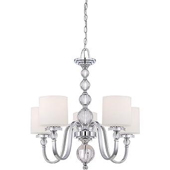 Quoizel dw5005c 5 light downtown chandelier in polished chrome quoizel dw5005c 5 light downtown chandelier in polished chrome aloadofball Image collections
