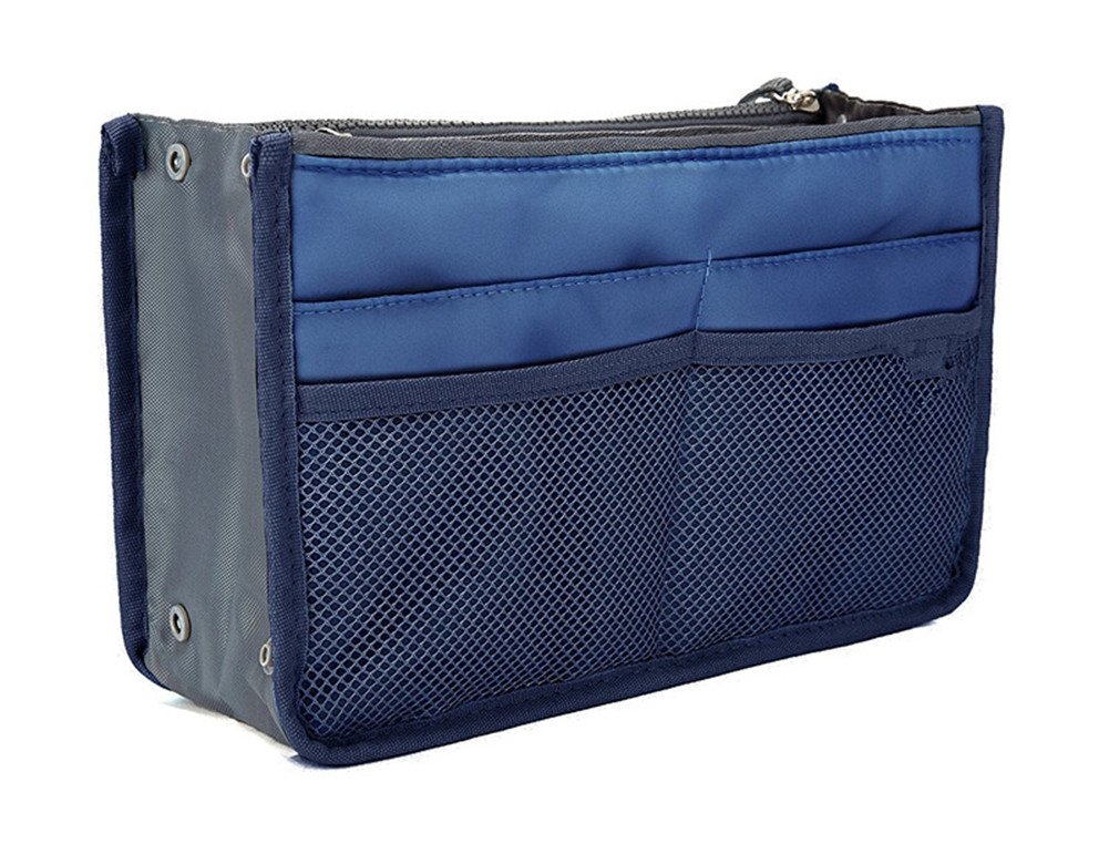 Vercord Purse Organizer,Insert Handbag Organizer Bag in Bag (13 Pockets 30 Colors 3 Size) SWSNB-001new