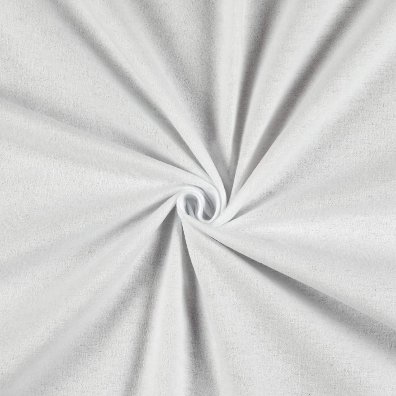 5 Yard Fabric Cotton Voile Sewing Loose  Fabric Light Weight Plain Off-White