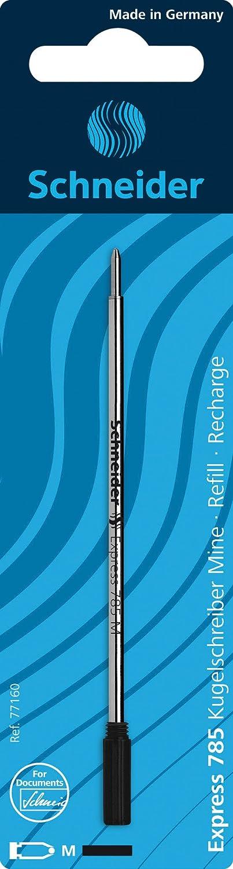 Schneider Express 785 M Ballpoint Refill-Black Pack of 3