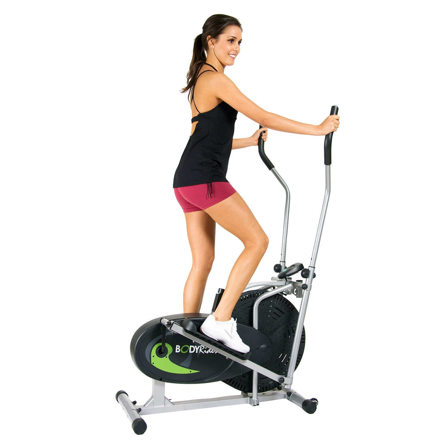 Body Rider Fan Elliptical Trainer with Air Resistance System, Adjustable Levels and Easy Computer BR1830 by Body Max (Image #3)