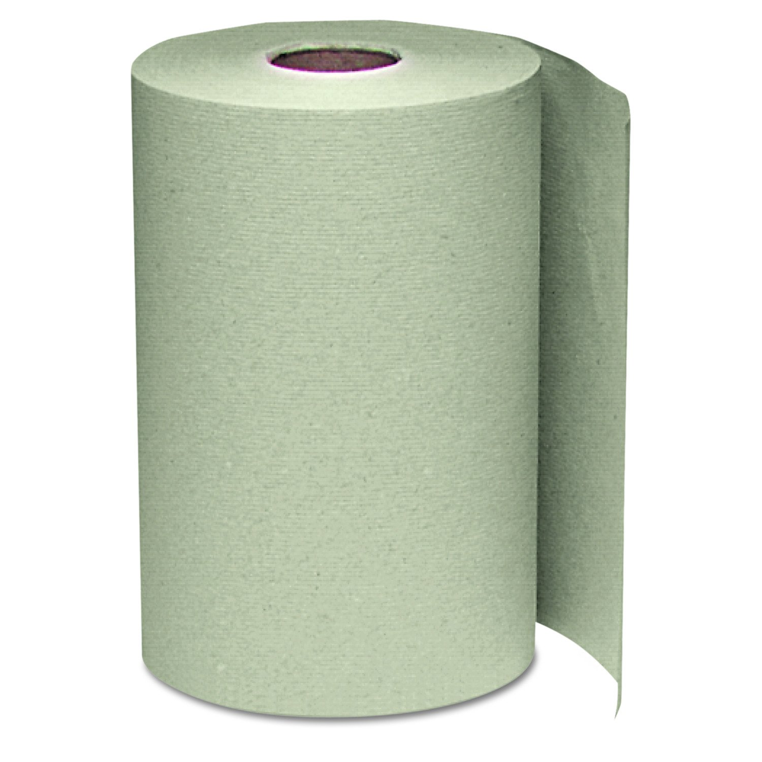 Windsoft 108 Nonperforated Paper Towel Roll, 8 x 350ft, Brown (Case of 12 Rolls)
