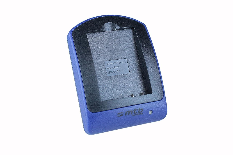Cargador (Micro-USB) para EN-EL14a / Nikon DF, D3300, D5300 ...