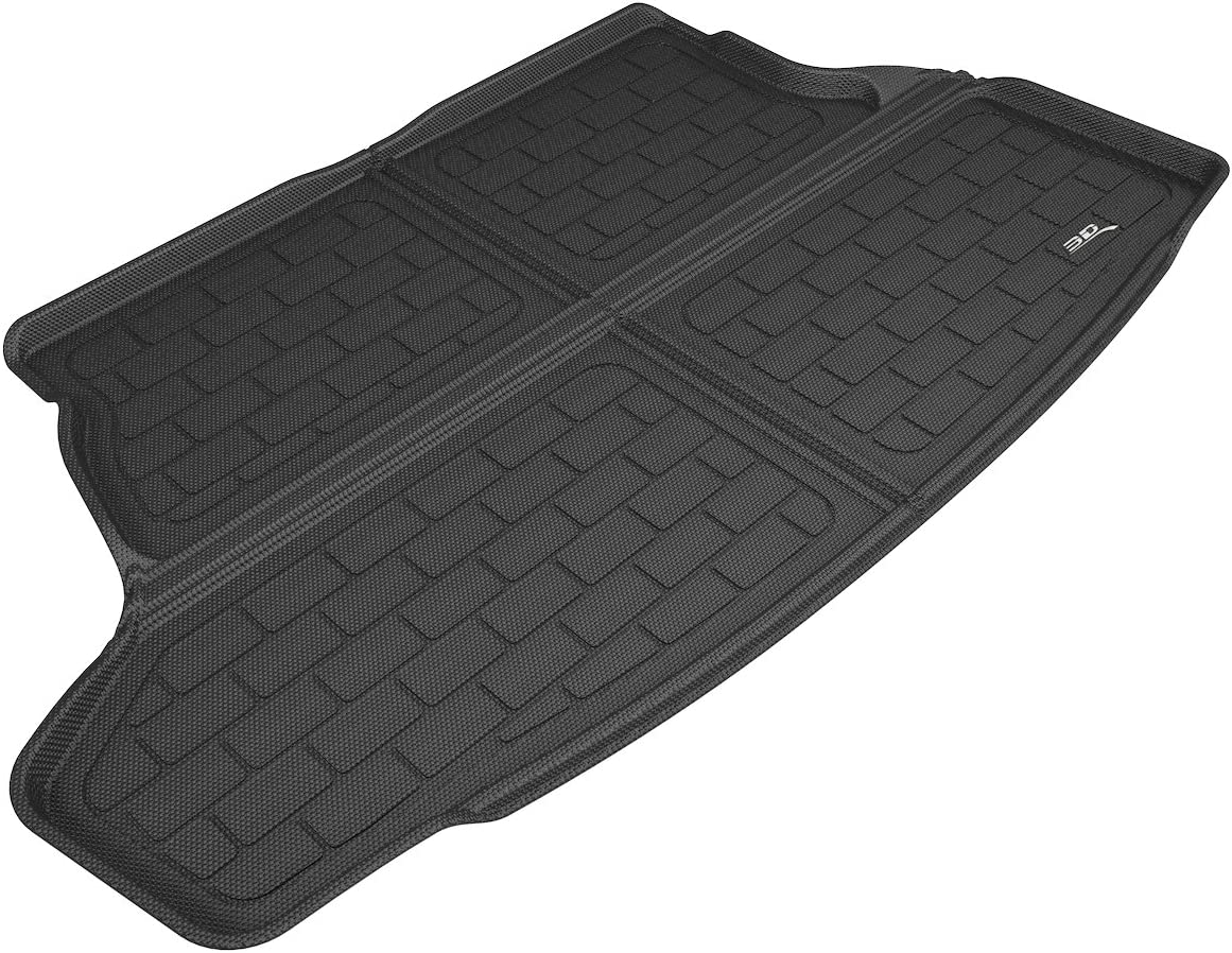 3D MAXpider Cargo Custom Fit All-Weather Floor Mat for Select Toyota Prius Prime Models - Kagu Rubber (Black) 71906ZBqQjLSL1500_