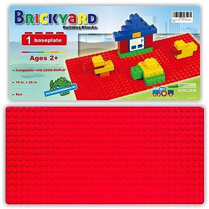 Compatible Baseplate For Large Building Blocks