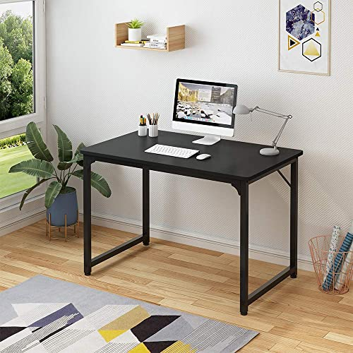 WUGO Computer Desk 39.4″ Home Office Writing Desk