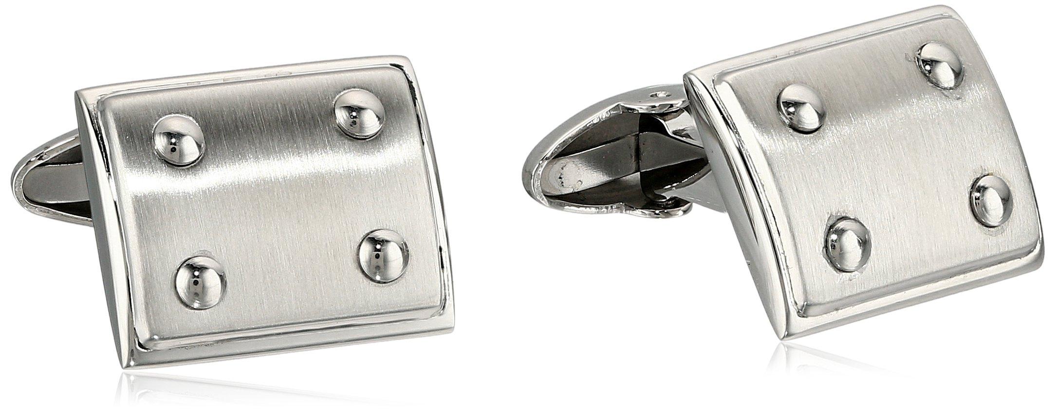 Cold Steel Stainless Steel Cufflinks