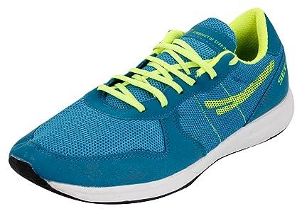 low priced 6dcb7 3fd6d Sega SEGA-MARATHAN-Blue-GRREN-6 Unisex Running Shoes, UK 6 (Multicolour)