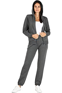 Lavnis Womens Tracksuit Plus Size 2 Piece Outfits Hoodie and Pants Sports Sweatsuit Set