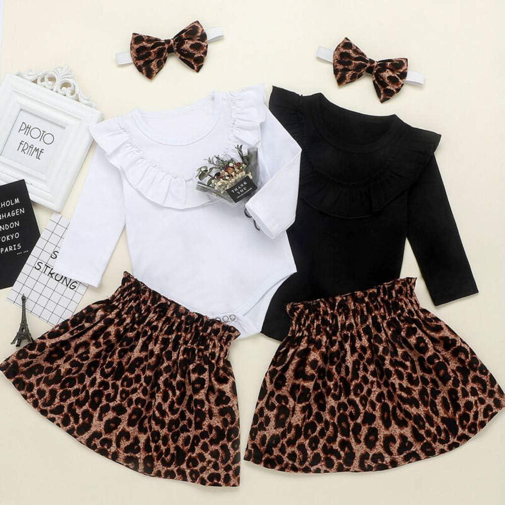 Tuta per neonati 3 pezzi vestito da principessa con gonna e fascia per capelli