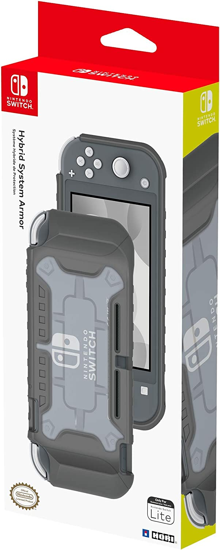 HORI - Carcasa híbrida gris (Nintendo Switch Lite)