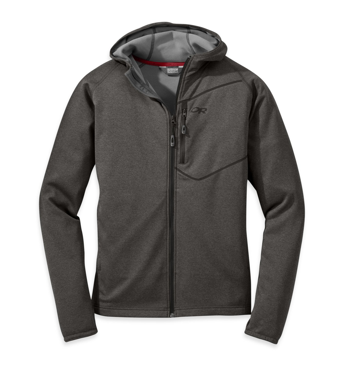 Outdoor Research Men's Starfire Hoody, Charcoal, S