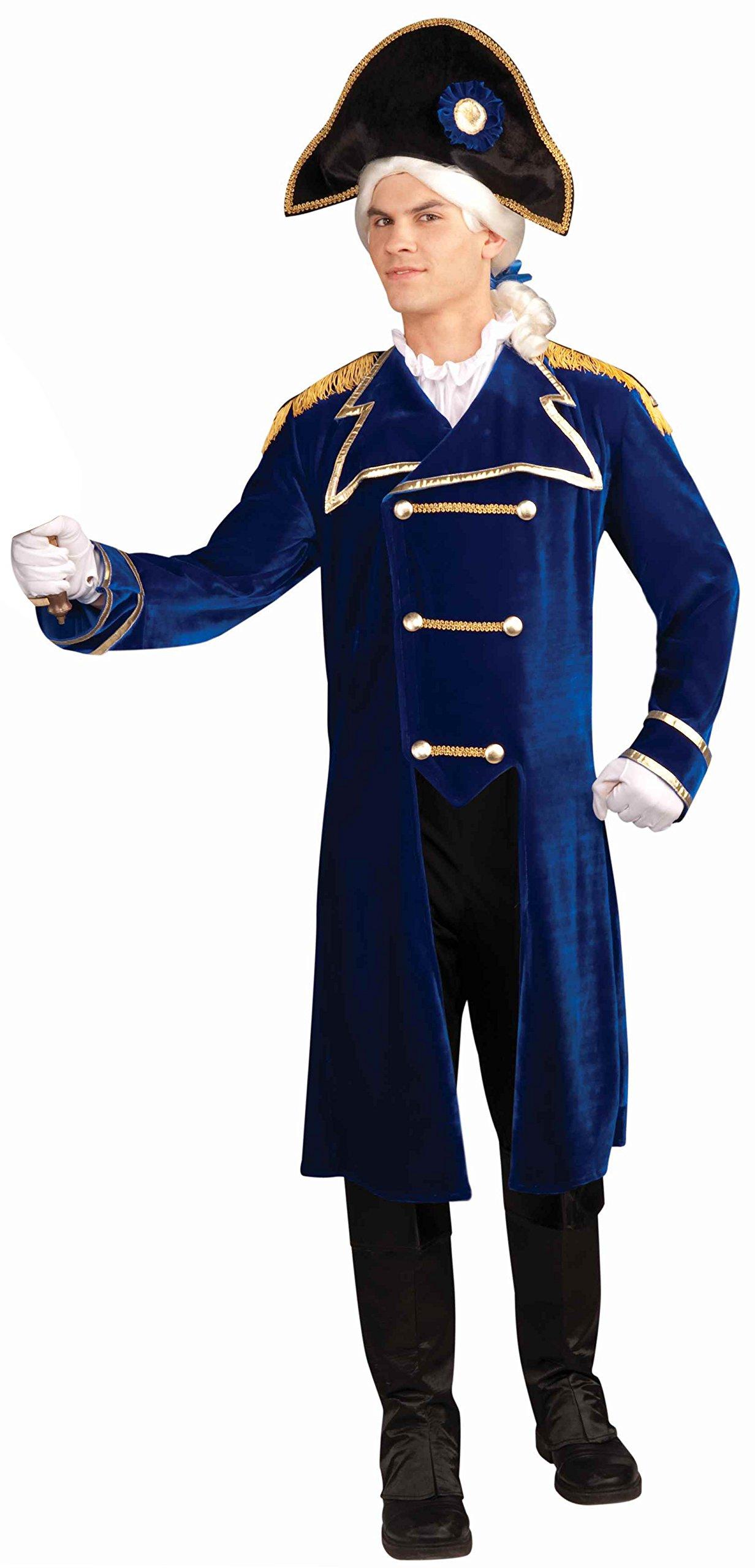 Forum Novelties Men's Patriotic Party Deluxe Admiral Costume, Multi, One Size