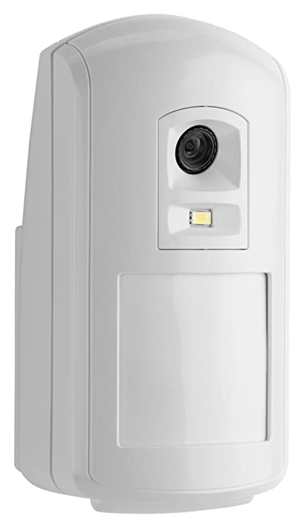 Honeywell Camir-8Ezs Evohome Security - Detector de Movimiento inalámbrico con cámara de fotografías a