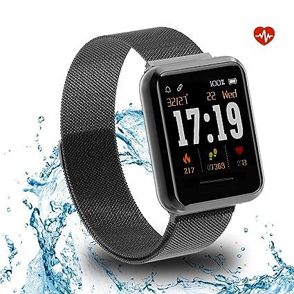 Amazon.com: KOSPET Fitness Tracker, Smart Watch with Heart ...