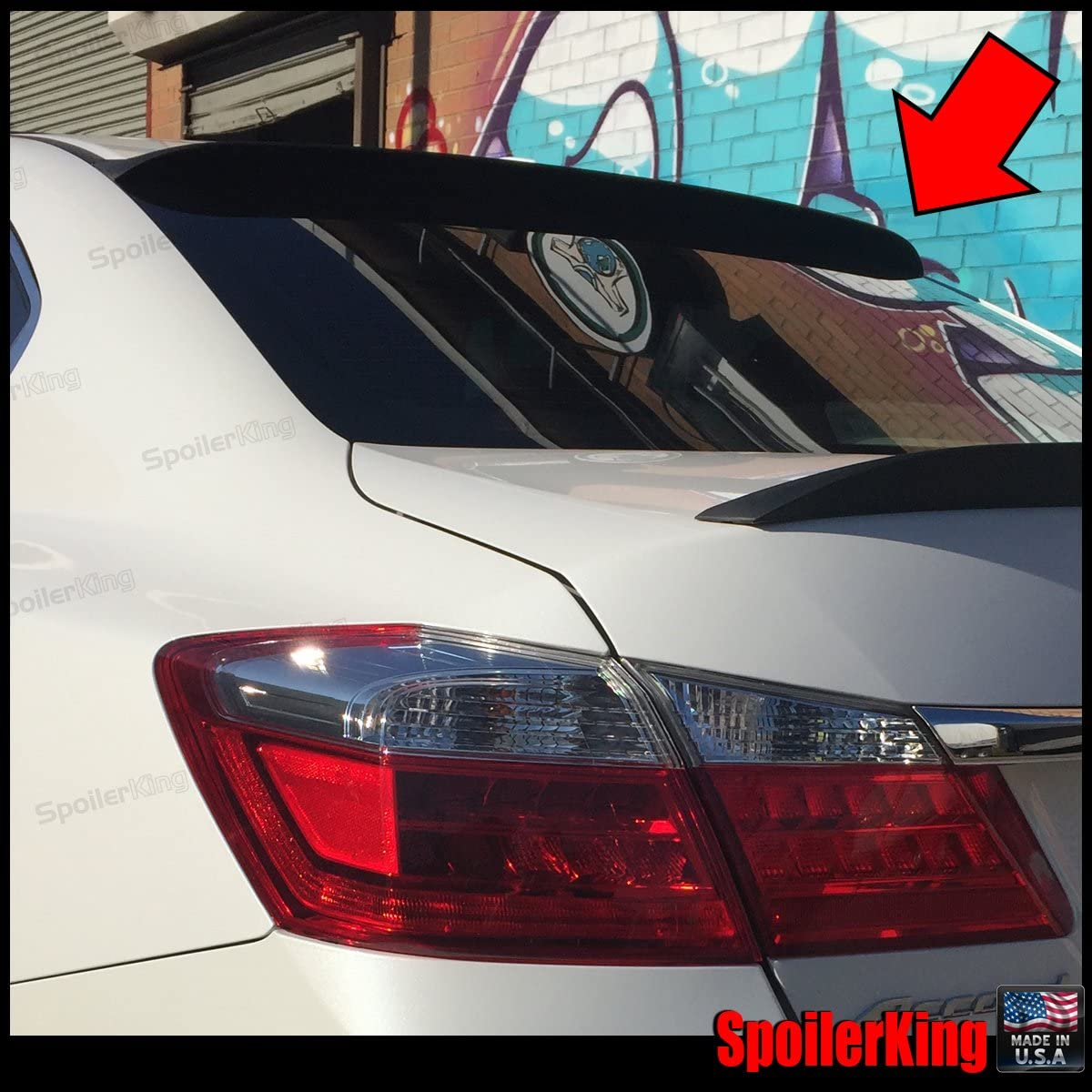 compatible with Honda Accord 4dr 2013-2017 Spoiler King Roof Spoiler 284R
