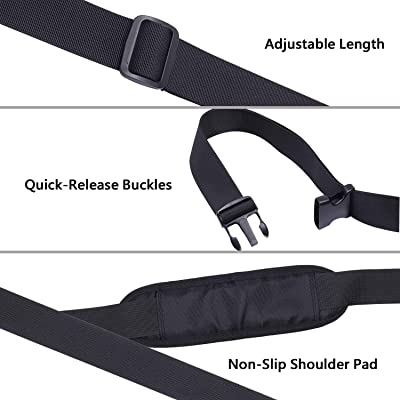 Single Shoulder Electric Scooter Strap Adjustable Buckle Outdoor For Xiaomi M365
