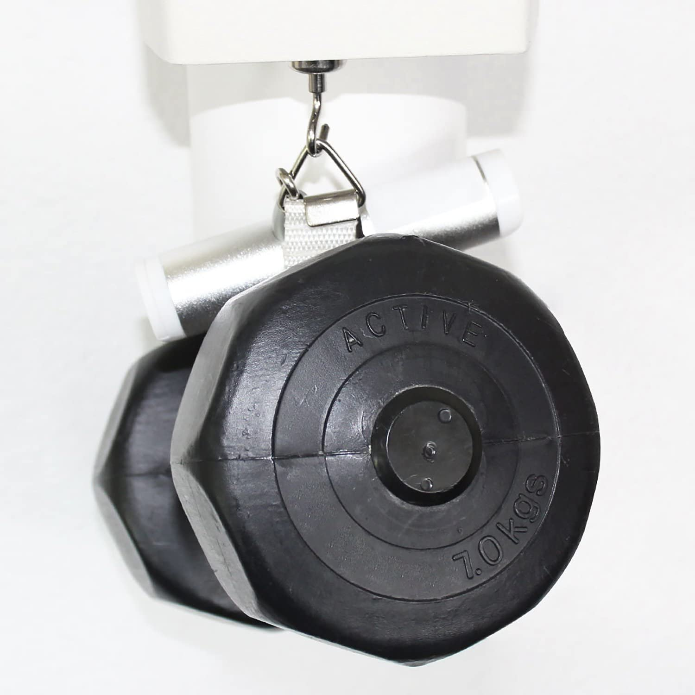 com-four/® 2X Magnethaken Neodym 02 St/ück 20 x 40 mm starker Werkstattmagnet mit Haken Garage oder B/üro Badezimmer f/ür K/üche